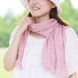 【★全30色 肌に優しい綿100%★】 たおるマフラー・今治タオル認定商品 <日本製>