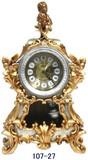 振り子付き置時計