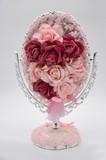 ★初売りSALE特価★【新商品】ワクワク楽しい!YTS雑貨|薔薇のテーブルミラー ROSE