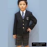 新作 ミチコロンドン(男の子入学式フォーマル)ブレザーセットスーツ