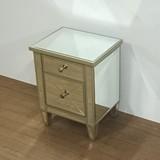 【ミラー家具】チェスト 鏡 ディスプレイ台 サイドテーブル(直送可能)