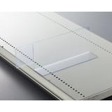 [店舗什器・商品陳列・システム什器・備品・POP表示]見出し仕切版 W303×D62×H92 塩ビ