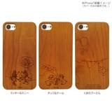 木製iPhone 7ケース ディズニー