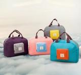 旅行用の収納袋 軽量折り畳みポーチ  4色
