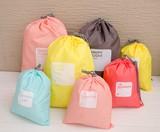 ★2016冬新作★カラフル旅行用のスリーブ収納袋  5色