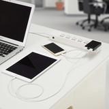 3.4A USBアダプター ブラック