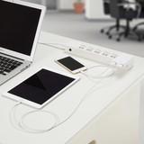 3.4A USBアダプター ホワイト