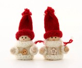 Christmas Dwarf Objects Knitted Girl Boy