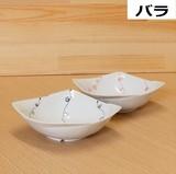 縁結び 多用鉢 (黒/赤) バラ