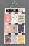 【ZIP-POCKET(S) 9柄セット ※什器付き】商品全14柄からセレクト可★ギフトラッピング 行楽 レジャー