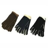 ムートン調 もこもこあったか手袋 Lサイズ 3色アソート (商品コード:407-822)