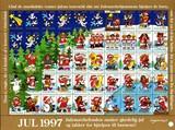 北欧デンマーク クリスマスシール(1997年/1シート50枚)