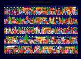 北欧デンマーク クリスマスシール(2002年/1シート50枚)