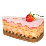 【クリスマス】さくら 今治 ケーキタオル 7色 レインボー ショートケーキ ハンカチ【日本製】【雑貨】
