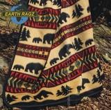 Earthragz (アースラグズ) ジャガード スロー ブランケット
