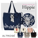 Embroidery Canvas Tote