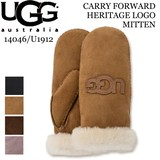《即納》UGG■手袋■シープスキン■ミトン■14046■U1912■CARRY FORWARD HERITAGE LOGO MITTEN