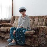 <即納>[2017SS]ガウチョパンツ ガロ
