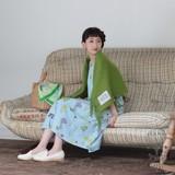 *5/16 BL再入荷*【リンネル5月号掲載】<即納>[2017SS]ワンピース レディバグガーデン