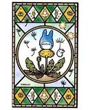 【となりのトトロ】[126-AC08]アートクリスタルジグソーパズル126ピース(たんぽぽ咲く日)