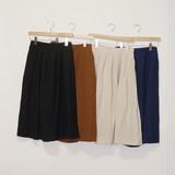 Linen Rayon Long Skirt Natural Linen