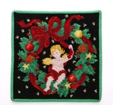 【2016クリスマス限定】フェイラータオルハンカチ Christmas 2016 GREEN