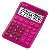 シャープ 電卓 レッド系 EL-M334RX 00015490