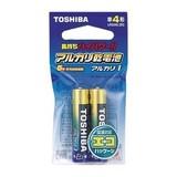 東芝 アルカリ電池 単4 (2個入・吊下) LR03AG2EC 00032929