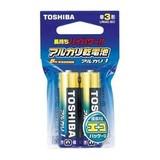 東芝 アルカリ電池 単3 (2個入・吊下) LR6AG2EC 00032928