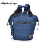 Legato Largo High Density Nylon Diver Material Opening Boston Backpack