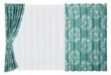 【クッカ】フィンランド語で「花」を意味する、おしゃれな遮光カーテン。