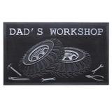 【ラバー・ガレージ・マット DAD'S WORKSHOP】1100-02