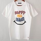 【予約販売】(3月納品)【2017年春物新作】HAPPY SEA BEACH半袖Tシャツ<日本製>