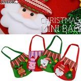 クリスマスミニバッグ【サンタ/ギフトバッグ/プレゼント袋】