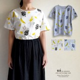 【Web展】【予約販売】【春夏新作】フルーツ プリントTシャツ/トップス