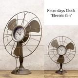 レトロデイズクロック[Electric fan 扇風機]