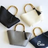S/S Bag Bamboo Handle Bag