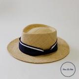 【春夏新作】[帽子]RAFFIA ポークパイ ハット  アレンジ クロス