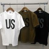 【予約販売】(4月納品)【2017年夏物新作】【HOUSTON】アメリカ製プリント 半袖Tシャツ