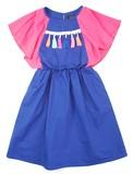 2017 S/S Fringe Color One-piece Dress