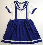 2017春夏 セーラー服の少女ワンピース