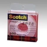 NEW スリーエム クリアテープ 18mm 600-1-18C 00014521
