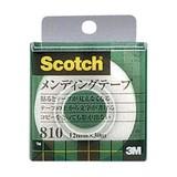 NEW スリーエム メンディングテープ(ケース入) 810-1-12C 00004571