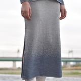 【Web展】(1月末納期)<日本製>ラメグラデーションスカート