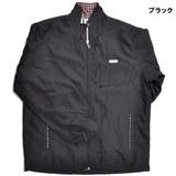 暖か裏フリース!レディースジャケット安心の撥水加工、光反射射ネーム4色・M〜3L【物流KRS】