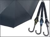 【迷彩柄パイピング】紳士雨傘グラスファイバー骨