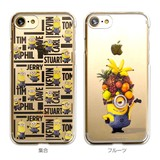 カスタムカバー iPhone 7 ミニオンメイド