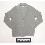 【予約販売】(2月納品)10Gオーガニックコットン凹凸柄ジャケット