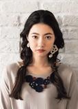手編みフラワークロシェ ネックレス