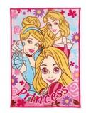 なんと〇〇掛け!ディズニー ジュニア毛布 プリンセス!ひざ掛け ブランケット!冬物